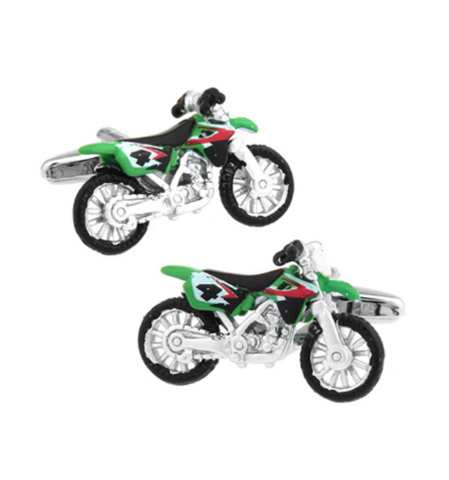 Manžetové knoflíčky motorka crosska