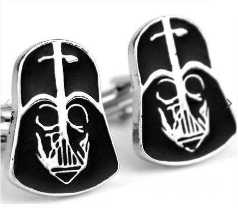 Manžetové knoflíčky Darth Vader Star Wars - 1