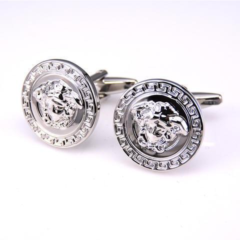 Manžetové knoflíčky Versace silver