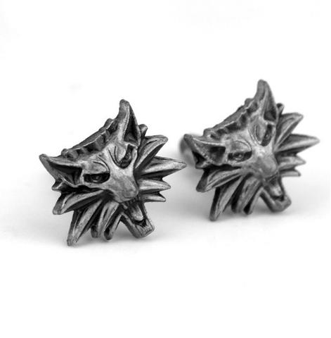 Manžetové knoflíčky vlk - 1