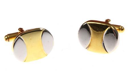 Manžetové knoflíčky zlatý overal