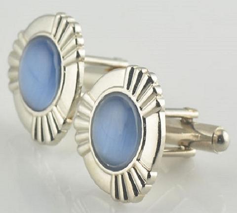 Manžetové knoflíčky modré oko