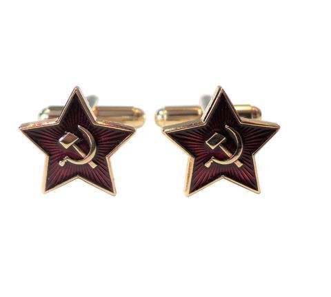 Manžetové knoflíčky Sovětský svaz CCCP - 1