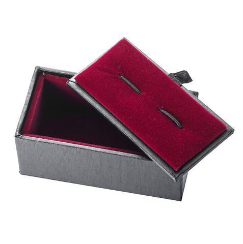 Krabička na manžetové knoflíčky - černá - 2