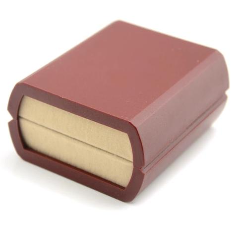 Krabička pro manžetové knoflíčky červená - 2