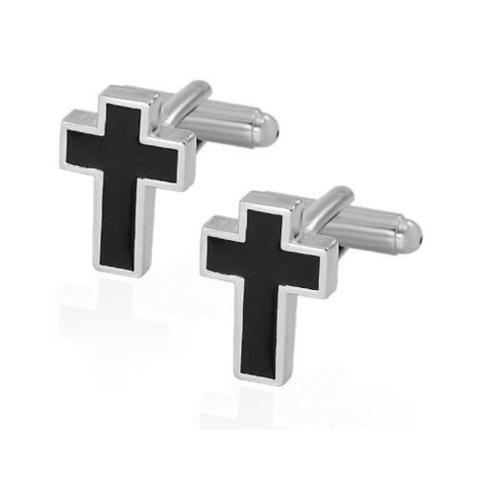 Manžetové knoflíčky křesťanský kříž - 2