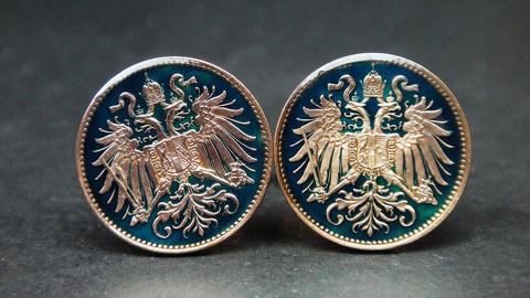 Manžetové knoflíčky Státní znak Rakouska - 2
