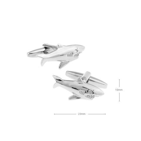 Manžetové knoflíčky žralok - 2
