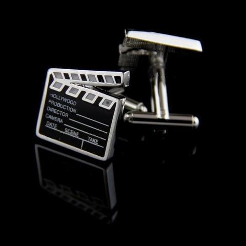 Manžetové knoflíčky filmová klapka - 2