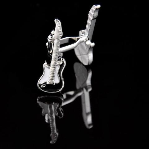 Manžetové knoflíčky + přívěšek kytara - 2