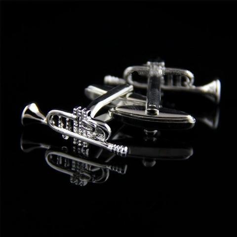 Manžetové knoflíčky jazzové trubky - 2