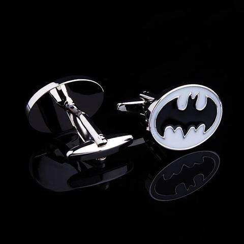 Manžetové knoflíčky Batman (Betman) bílá - 2