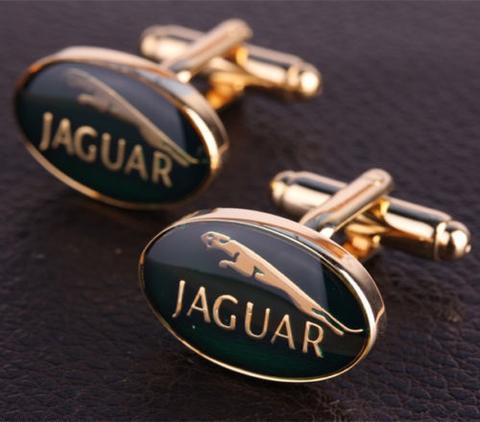 Manžetové knoflíčky Jaguar gold - 2