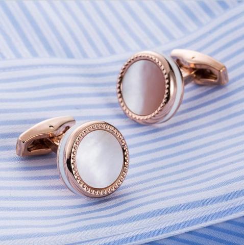 Manžetové knoflíčky perleť - 2