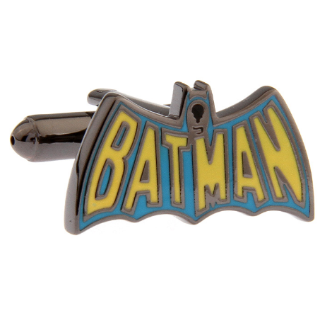 Manžetové knoflíčky Batman barevné logo - 2