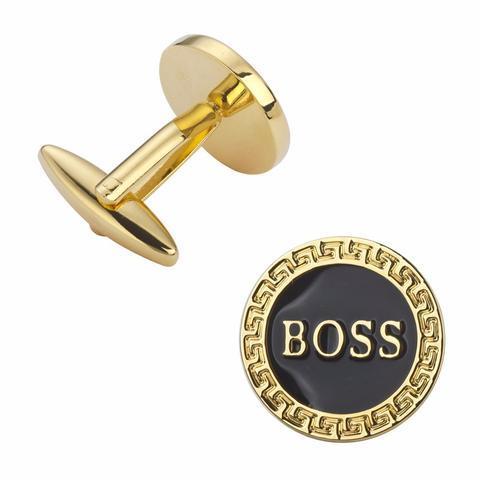 Manžetové knoflíčky BOSS gold - 2
