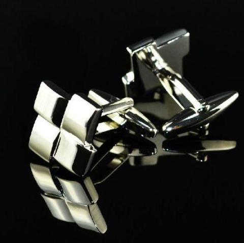 Manžetové knoflíčky mozaikový kříž - 2