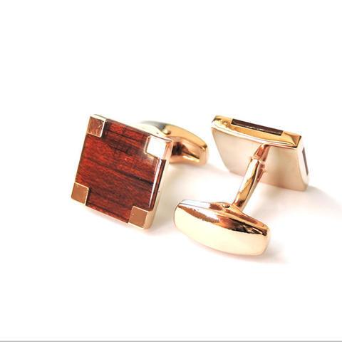 Manžetové knoflíčky wood - 2