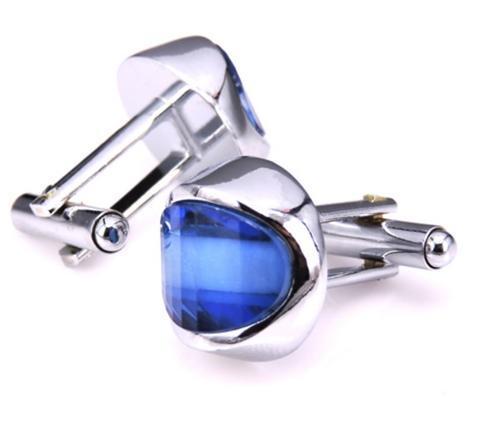 Manžetové knoflíčky modré oko - 2
