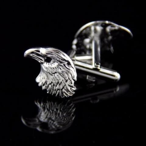 Manžetové knoflíčky orlí hlava - 2