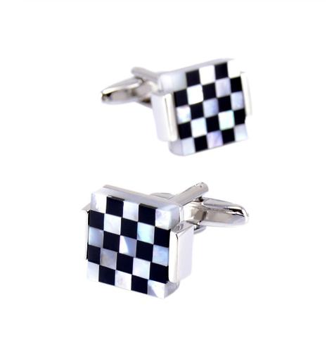 Manžetové knoflíčky perleťová mozaika - 2