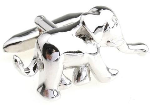 Manžetové knoflíčky slon - 2