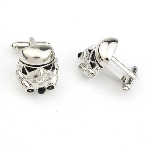 Manžetové knoflíčky Star Wars přilba - 2