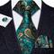 Manžetové knoflíčky s kravatou a šálou - 2/3