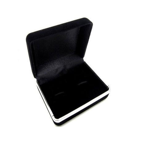 Krabička pro manžetové knoflíčky - semiš - 3