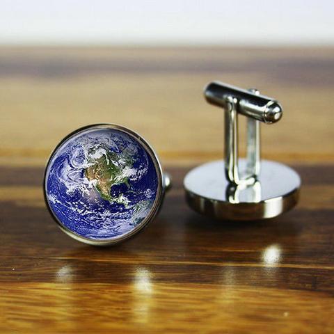 Manžetové knoflíčky Země - 3