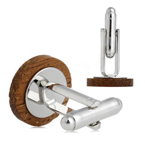 Manžetové knoflíčky dřevěný knoflík - 3