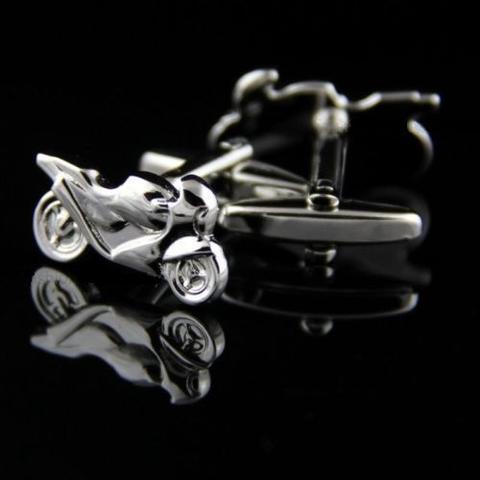 Manžetové knoflíčky motorka - 3