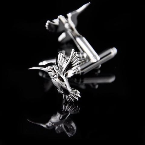 Manžetové knoflíčky kolibřík - 3