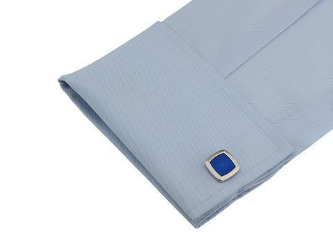 Manžetové knoflíčky modré - 3