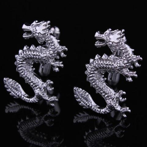 Manžetové knoflíčky čínský drak - 3