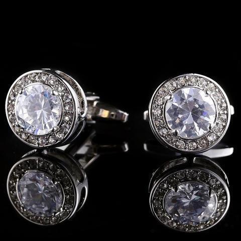 Manžetové knoflíčky diamant - 3