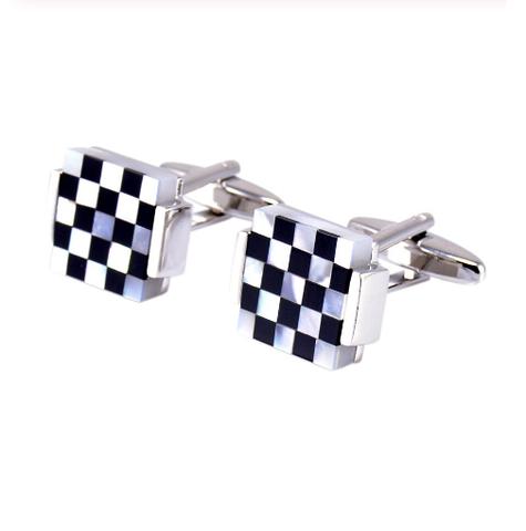 Manžetové knoflíčky perleťová mozaika - 3