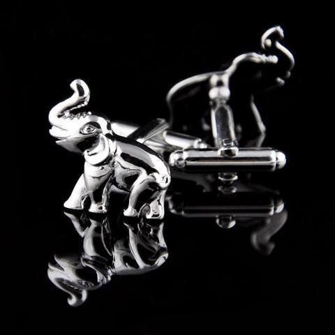 Manžetové knoflíčky slon - slůně - 3