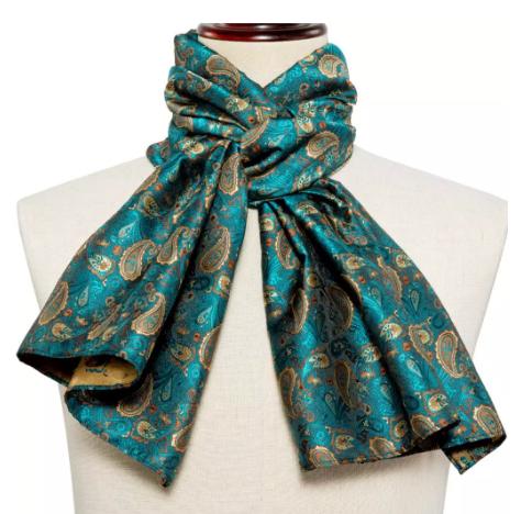 Manžetové knoflíčky s kravatou a šálou - 3