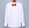 Bíla manžetová košile, velikost 39 - 4/4