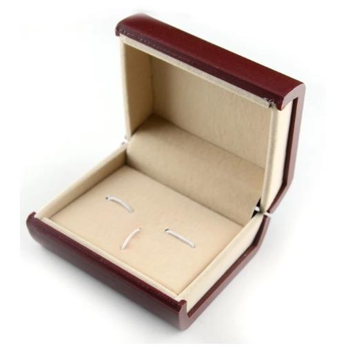 Krabička pro manžetové knoflíčky červená