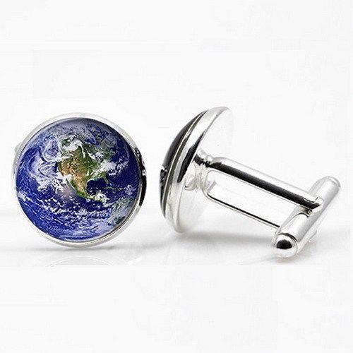 Manžetové knoflíčky Země
