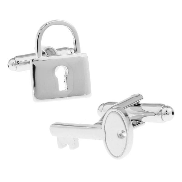 Manžetové knoflíčky zámek a klíč
