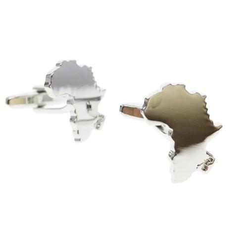 Manžetové knoflíčky Afrika kontinent