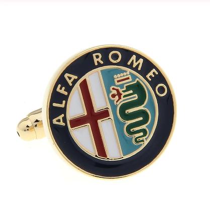 Manžetové knoflíčky Alfa Romeo