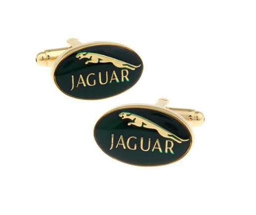 Manžetové knoflíčky Jaguar gold