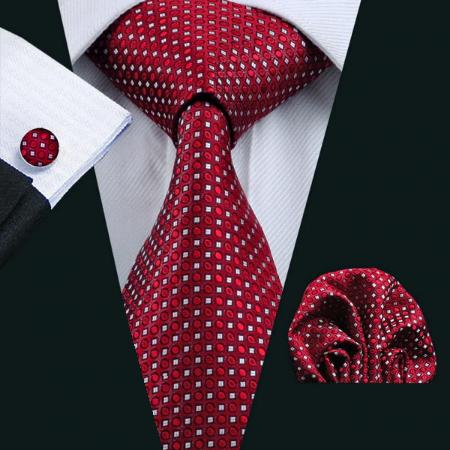Manžetové knoflíčky s kravatou - Adrasteia
