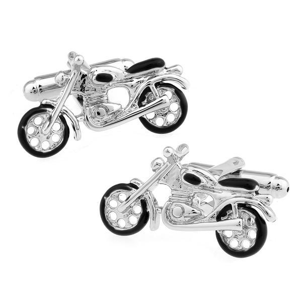 Manžetové knoflíčky motocykl