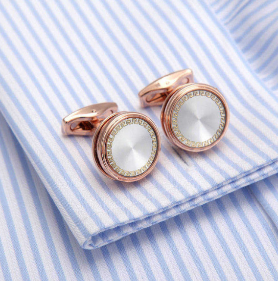 Manžetové knoflíčky perleť Athena