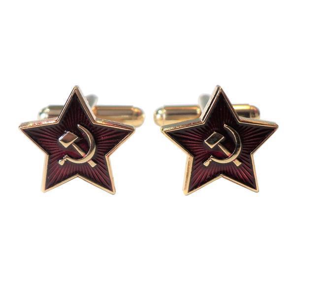 Manžetové knoflíčky Sovětský svaz CCCP